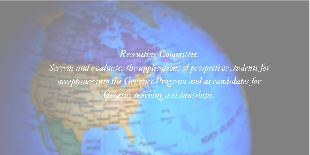 Genetics Recruiting Committee