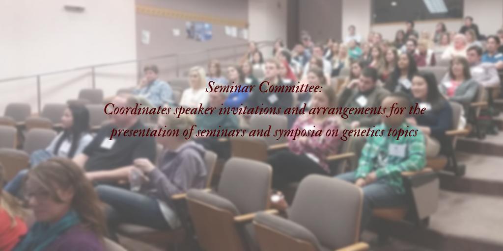 Genetics Seminar Committee