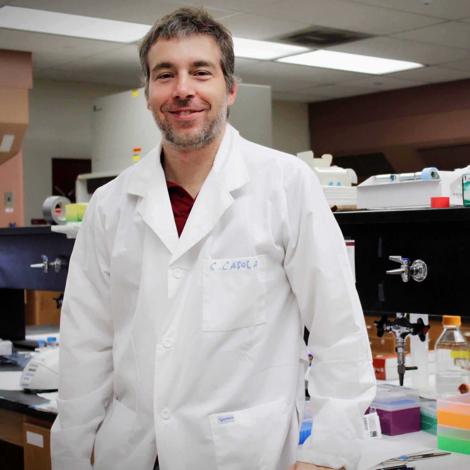 Claudio Casola, PhD
